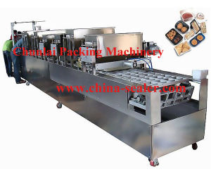 Automatic Rice Tray Filling and Sealing Machine pictures & photos
