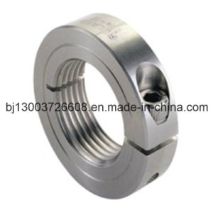 Precision Stainless Steel Threaded Shaft Collar CNC Machining
