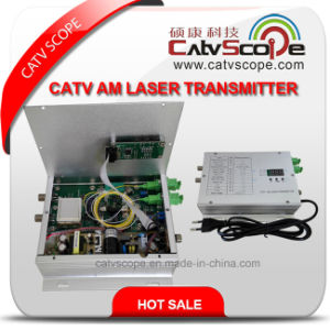 CATV Am Laser Transmitter 1310nm/1550nm pictures & photos