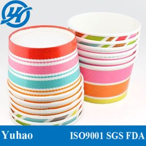 Most Beautiful Free Sample Paper Ice Cream Cup Wholesale pictures & photos
