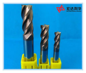 High Performance 4 Flutes Coating Solid Carbide Square End Mill pictures & photos
