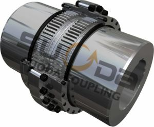 Suoda Gear Coupling with Connecting Tube Good Quality High Transmission Efficiency Gat Type pictures & photos