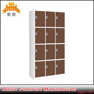 Jas-031 Hot Sale Commercial Furniture Detachable 12 Door Metal Wardrobe pictures & photos