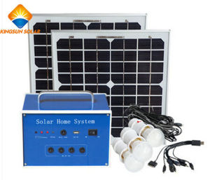 20W off Grid Light System Solar System pictures & photos