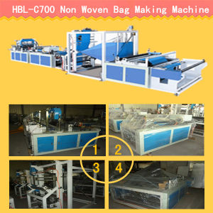 Faster Nonwoven Bag Making Machine pictures & photos