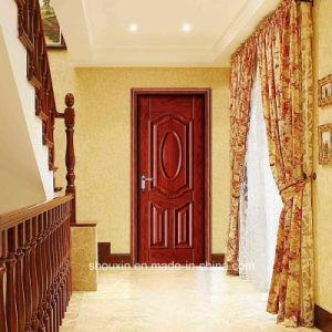 Cheap Price Hot Sale Wooden Steel Door (SX-3-5505) pictures & photos