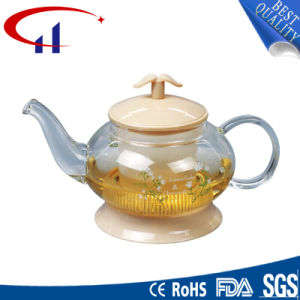 Handmade High-Quanlity Best-Sell Borosilicate Glass Teapot (CHT8031) pictures & photos