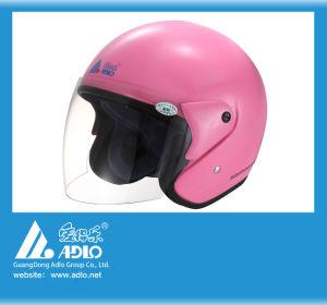 Adlo Pink Open Face Motorcycle Helmet (05)