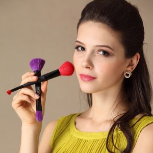 Dual Ends Cosmetic Make up Brush for Powder &Blush pictures & photos