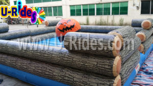 Pumpkin Inflatable Wipeout Game for Halloween pictures & photos
