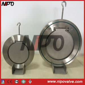 Wafer Type Single Disc Swing Check Valve (forging body) pictures & photos