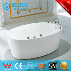Factory Outlet Sanitary Ware Acrylic Jacuzzi Massage Tub (BT-A1006) pictures & photos