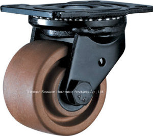 High Temp. Low Setting Height Swivel Caster (280 degree) pictures & photos