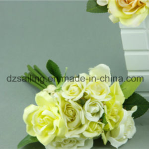 High Quality Wedding Rose Bouquet Flower for Decoration (SF12499) pictures & photos