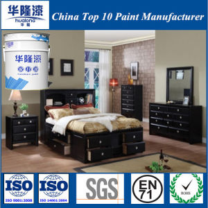 Hualong Nc Semi Matt Black Wooden Paint (50° Gloss) pictures & photos