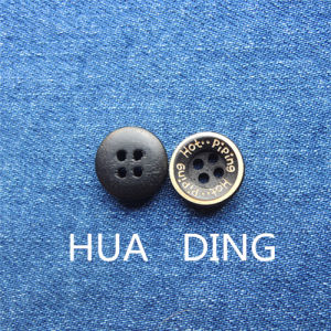Beautiful 4-Hole Sewing Button for Garment (HD1014-15) pictures & photos