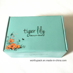 Custom Carton Packaging Gift Box with Corrugated Paper and E-Flute
