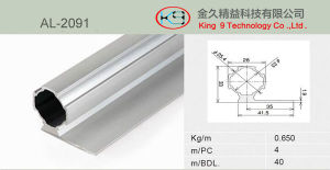 Aluminium Alloy Pipe for Work Shelves (AL-2091) pictures & photos