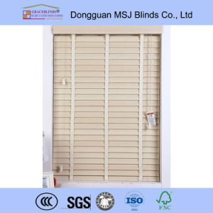 Faux Wood Blinds Reviews Faux Wood Blinds Cheap PVC Blinds pictures & photos