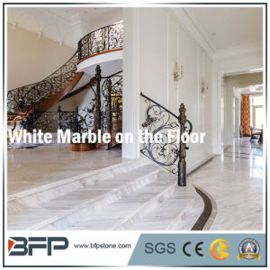 Popular White Marble Stairs/Step U0026 Riser For Floor/Upstair Interior
