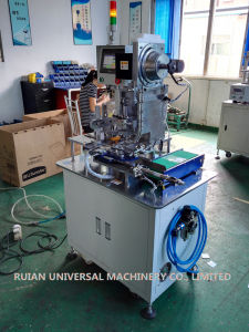 Full Automatic Tag Eyeleting Machine (LM-JY3) pictures & photos