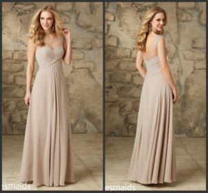 Chiffon Bridesmaids Dress Long Party Prom Evening Dresses B2918 pictures & photos