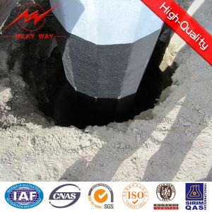 25FT Bitumen 69kv Steel Distribution Pole pictures & photos