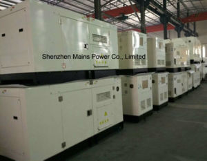 30kVA 24kw Standby Power Silent Type Cummins Diesel Generator pictures & photos