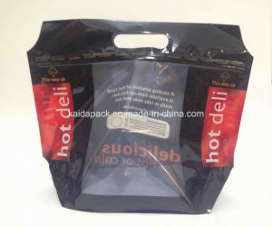 Stand up Zipper Bag with Window for Hot Deli Food pictures & photos