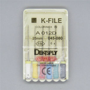 Brand New Dental K-Files Size #45-80 25mm pictures & photos