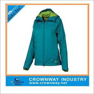 Light Breathable Packable Waterproof Jacket for Ladies pictures & photos