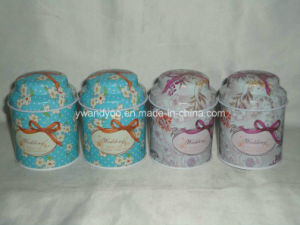 Customized Organic Soya Candle in Tall Tin Containers pictures & photos