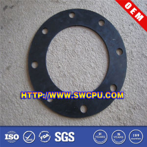 Custom Round Cr/EPDM/Silicon Rubber Gasket (SWCPU-R-FG108) pictures & photos