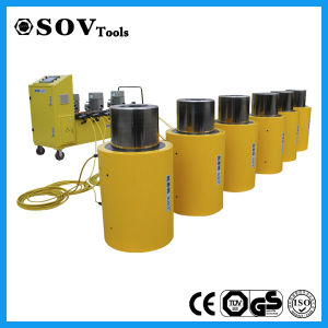 Sov High Tonnage Double Acting Hydraulic Cylinder pictures & photos