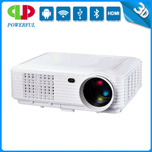 Perfect 2015 3D Full HD 1080P Android and High Quality Projectors with WiFi/Miracast/Dlna/Bluetooth for Home/Business/Education pictures & photos