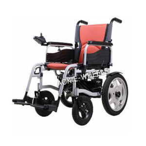 Easy Operate Folding Electric Wheelchair for Disabled (PW-004) pictures & photos