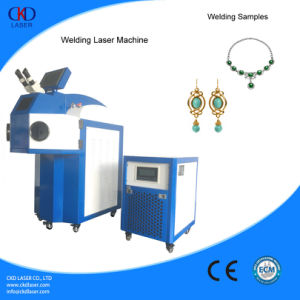 Jewelry Neacklace 180W Laser Spot Welder From CKD Laser pictures & photos