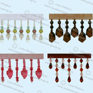 2017 Colorful Curtain Beaded Tassel Fringe 006 pictures & photos