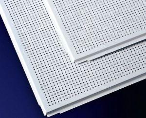 Perforated Aluminum Acoustic False Ceiling Tiles pictures & photos