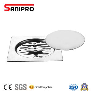 Square Stainless Steel Floor Drain Cover with Mirror Surface pictures & photos