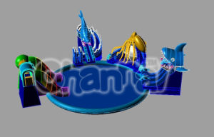 New! Hot Inflatable Water Park Water Games Toys (CHW008) pictures & photos