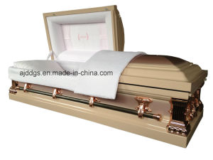 American Style Metal Coffin (18319042) pictures & photos