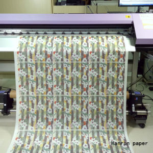 New Product Low Cost 45GSM Heat Transfer Sublimation Paper for Sublimation Fabric pictures & photos