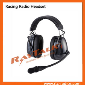 Carbon Fiber Headset with Dynamic Microphone pictures & photos