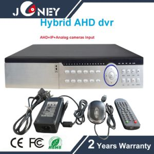 24CH / 32CH 5 in 1 Hybrid DVR (AHD CVI TVI CVBS IP input) pictures & photos