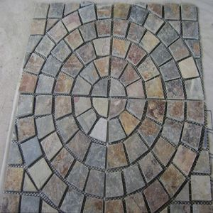 Natural Slate Pavestones/Stepping Stones for Outdoor / Garden pictures & photos