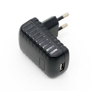 UL/FCC/CE/GS/SAA-Approved 5V/1A/2A USB Charger for Mobile Phone pictures & photos