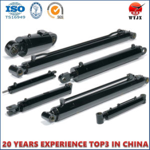 Customized Professional Telescopic Hydraulic Oil Cylinder for Agriculture Machinery pictures & photos
