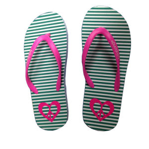Customized Logo Hig Quality Rubber Flip Flops pictures & photos