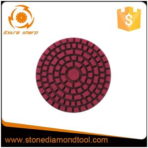 Granite Marble Diamond Flexible Wet and Dry Polishing Pad pictures & photos